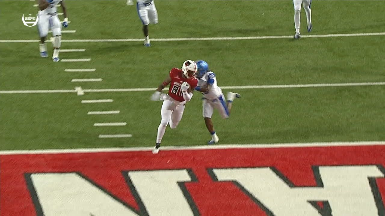 Arkansas State Hansen connects with Isaac for 30-yard TD