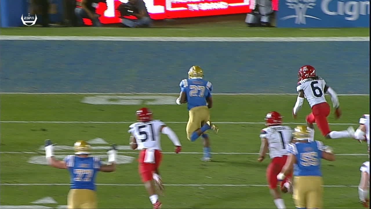 Speight throws 2 touchdown passes to lead UCLA over Arizona