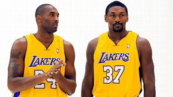 Kobe & Artest