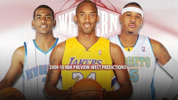 NBA Western Illustration