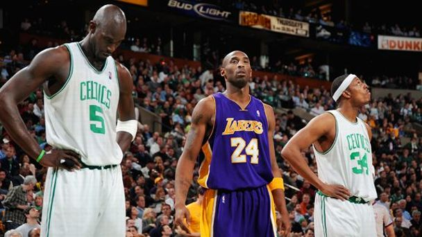 Kevin Garnett, Kobe Bryant, Paul Pierce