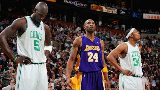 Kevin Garnett, Kobe Bryant, Paul Pierce