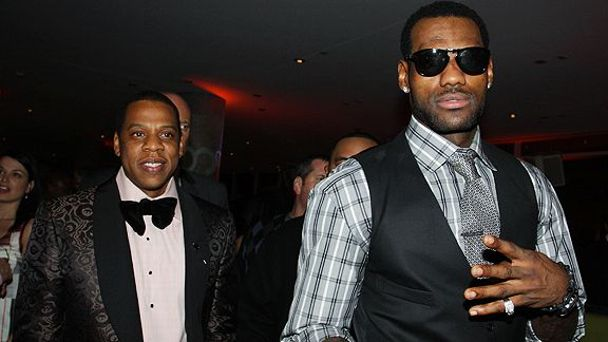 LeBron & Jay Z