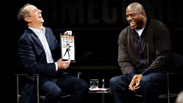 Rick Reilly & Magic Johnson