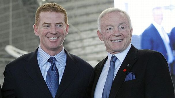 Jason Garrett and Jerry Jones