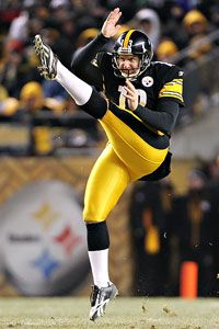 Matthew Emmons/US Presswire Jeremy Kapinos punting for the Steelers.