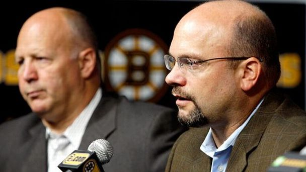 Claude Julien and Peter Chiarelli