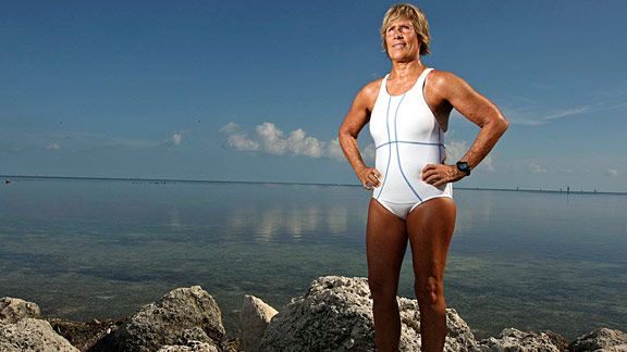 espnw nyadd 576 Dr. Ken Kalmer on Diana Nyads 103 Mile Swim from Cuba to Florida Photo