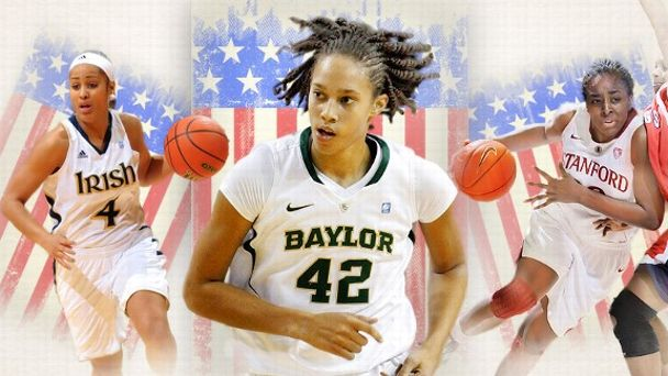 Brittney Griner, Skylar Diggins and Nnemkadi Ogwumike