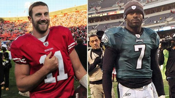 Alex Smith, Michael Vick