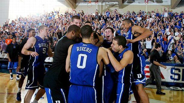 Duke celebrates