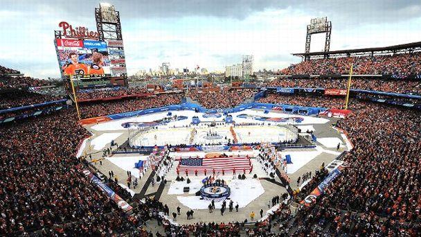 NHL Winter Classic at Citizens Bank Park