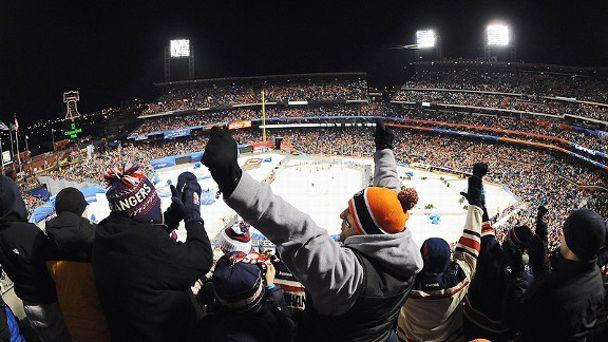 NHL Winter Classic Fans