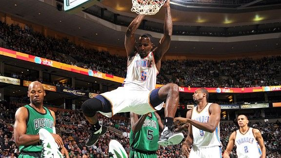 3-on-3: Celtics vs. Thunder (Game 32 of 66) - Boston ...