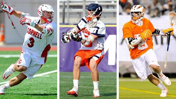 Rob Pannell, Steele Stanwick and Mark Matthews