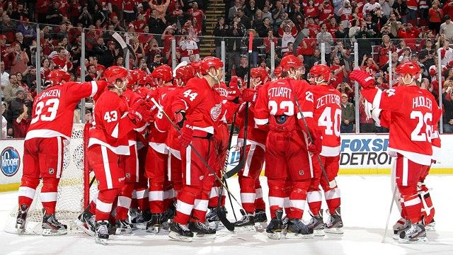 detroit red wings and bias
