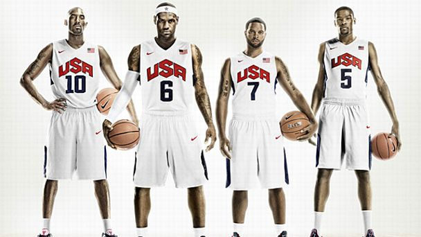 Team USA Nike uniforms