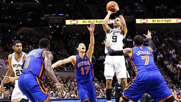 Spurs v Knicks