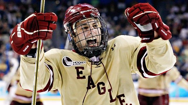 NCAA: The Party Never Stops At The Frozen Four