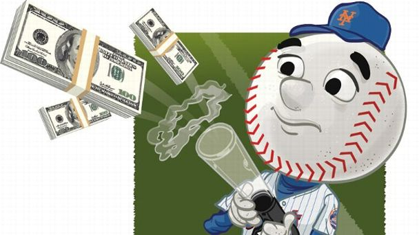 Mr. Met (Money Issue)