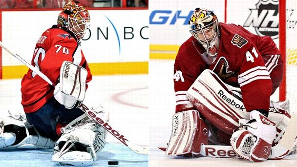Braden Hotlby and Mike Smith