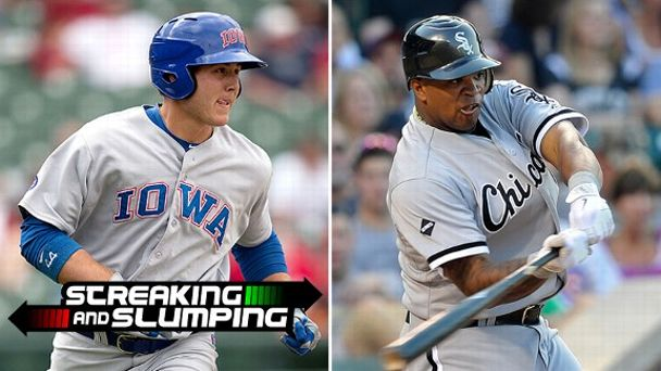 Anthony Rizzo and Dayan Viciedo