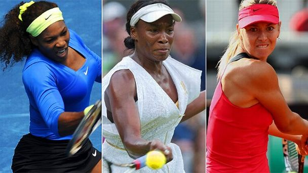 Serena Williams/Venus Williams/Maria Sharapova