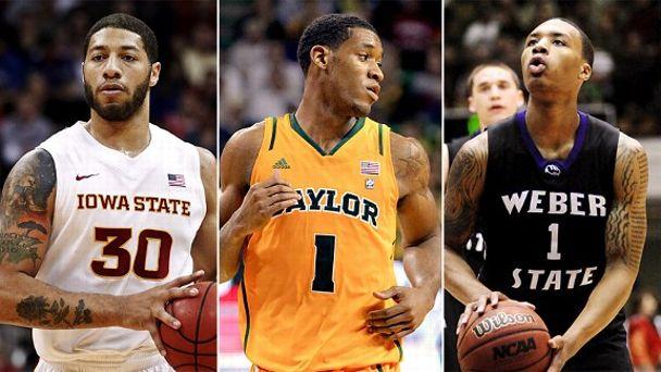 Royce White, Damian Lillard and Perry Jones