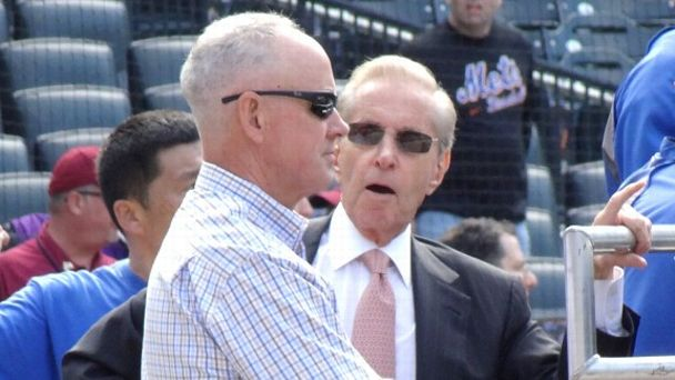 Fred Wilpon and Sandy Alderson