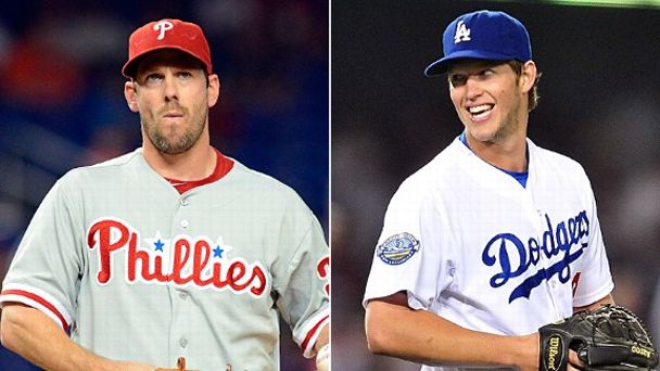 Cliff Lee and Clayton Kershaw