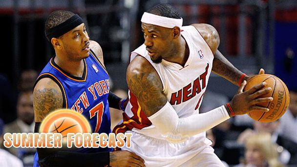 Carmelo Anthony LeBron James