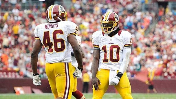 Robert Griffin III and Alfred Morris
