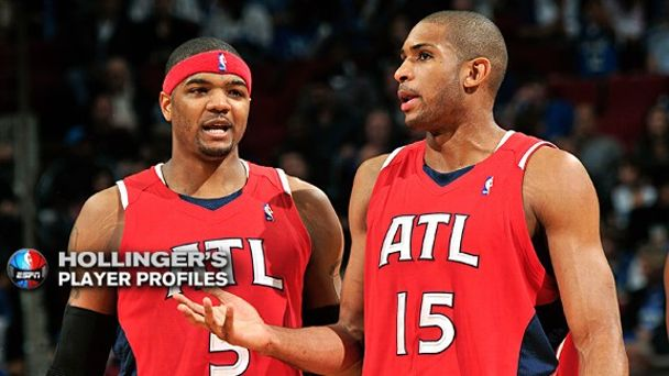 Josh Smith and Al Horford