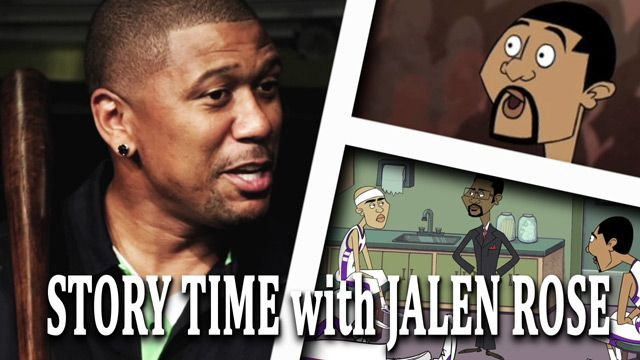 Story Time With Jalen Rose: The Vince Carter Body Slam