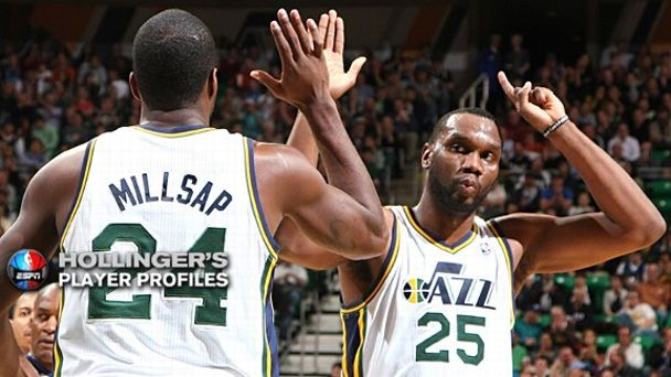 Paul Millsap and Al Jefferson
