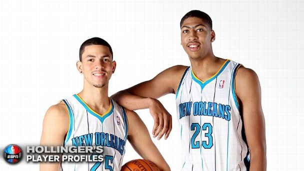 Anthony Davis and Austin Rivers