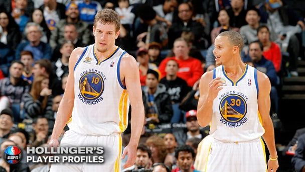 David Lee and Stephen Curry
