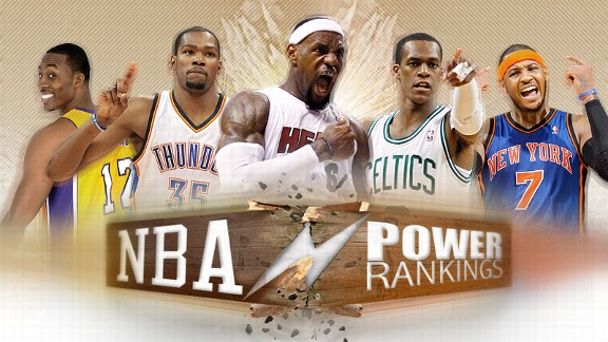 NBA Power Rankings illustration