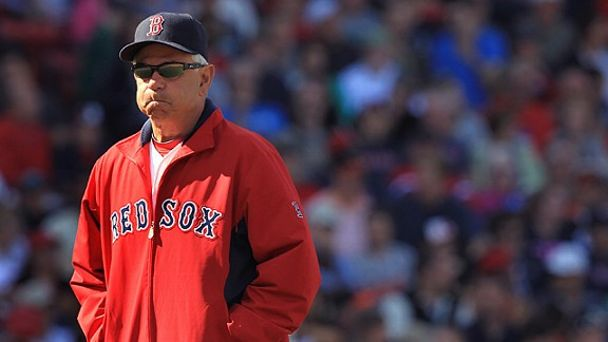 Boston Red Sox manager Bobby Valentine