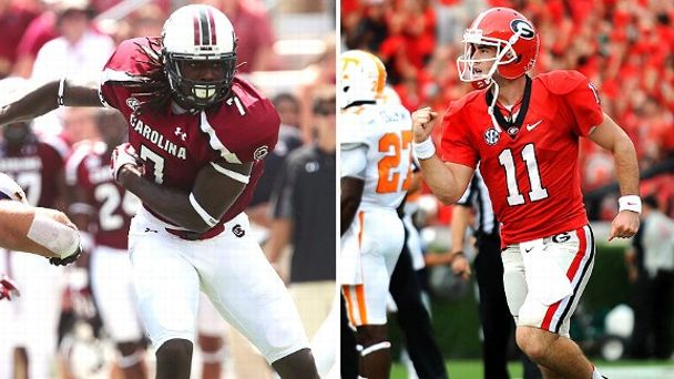 Jadeveon Clowney, Aaron Murray