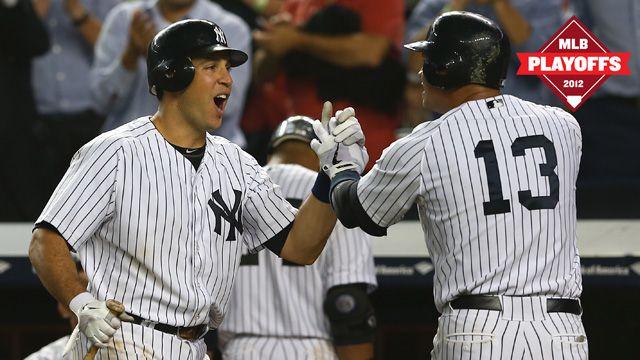 The 2012 Yankee Playoff Choke Alert