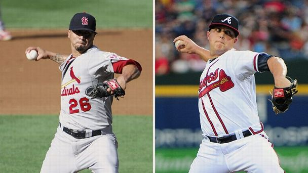 Kyle Lohse and Kris Medlen
