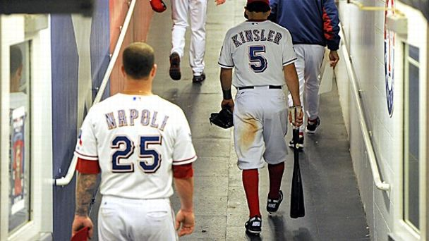 Mike Napoli and Ian Kinsler