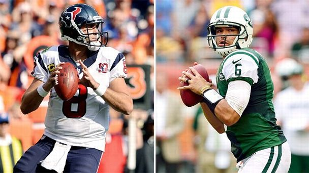 Matt Schaub and Mark Sanchez