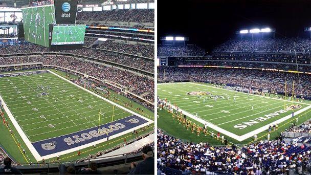 Cowboys and M&T Stadium