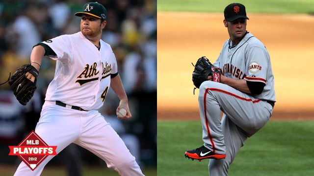 MLB Playoff Wrap: Giants, A's Live to Fight Another Day