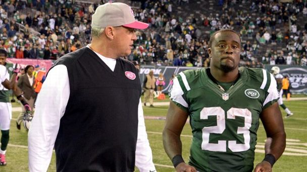 Rex Ryan, Shonn Greene
