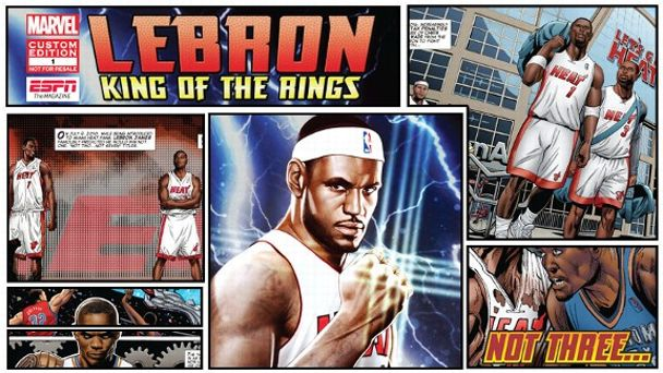 LeBron James Mag Illustration