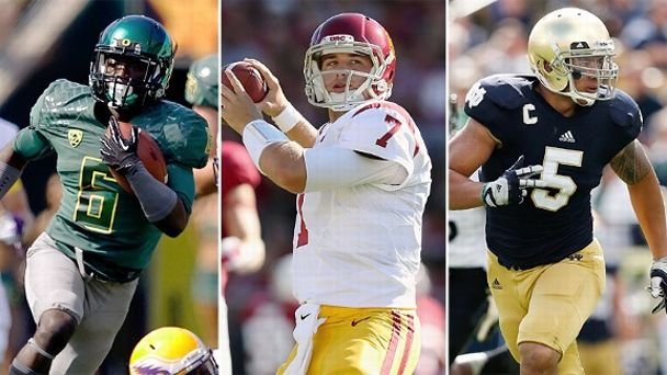 De'Anthony Thomas, Matt Barkley, Manti Te'o