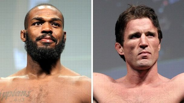 Jon Jones and Chael Sonnen